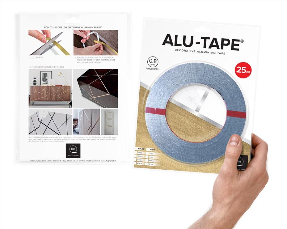 Alu tape blister