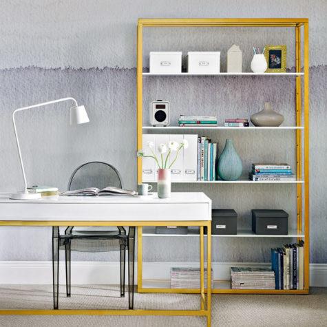 Decorate dull furniture with modern design patterns.
