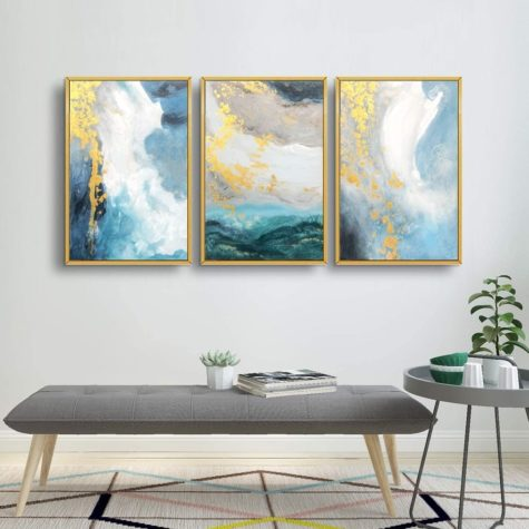 Frame all your art in gold