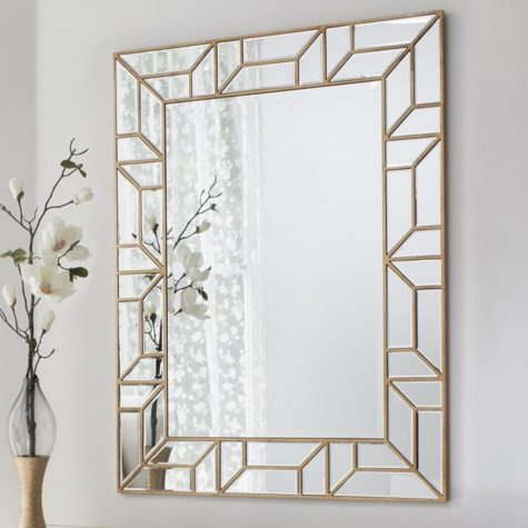 Consider decorating the edge of your mirrors.