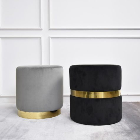 Create curved gold plinth for  your basic furnitures